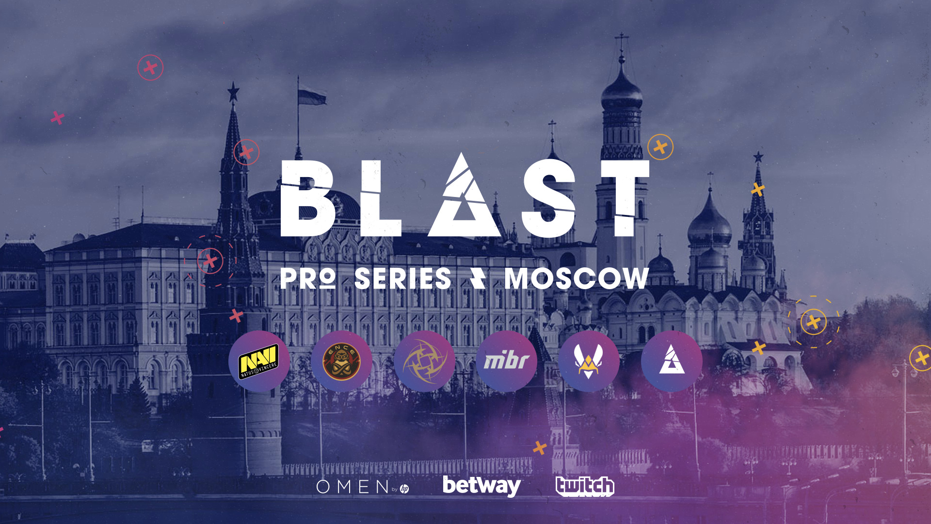 BLAST Pro Series Moscow 2019 Tournament