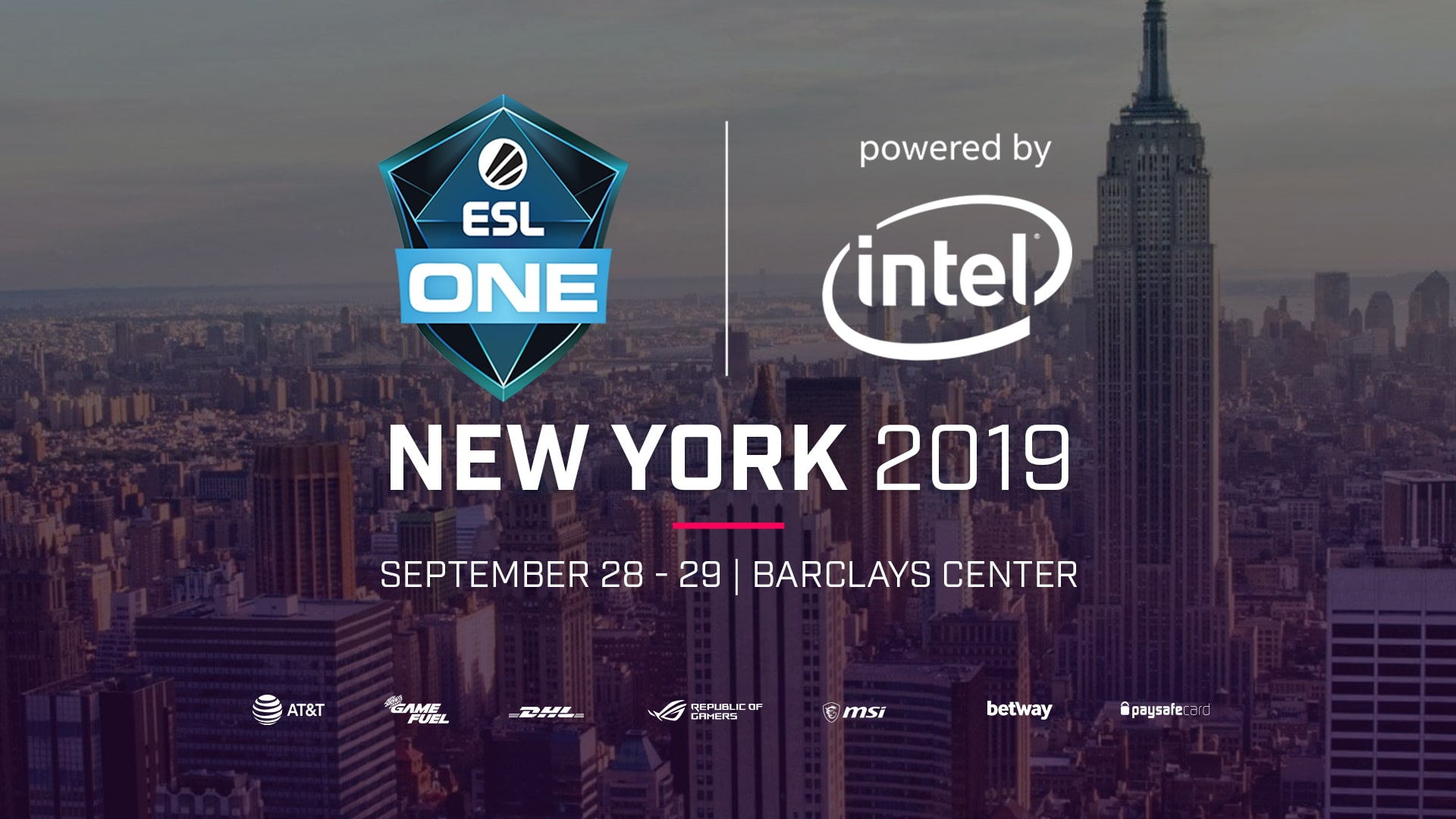 ESL One New York 2019 Tournament