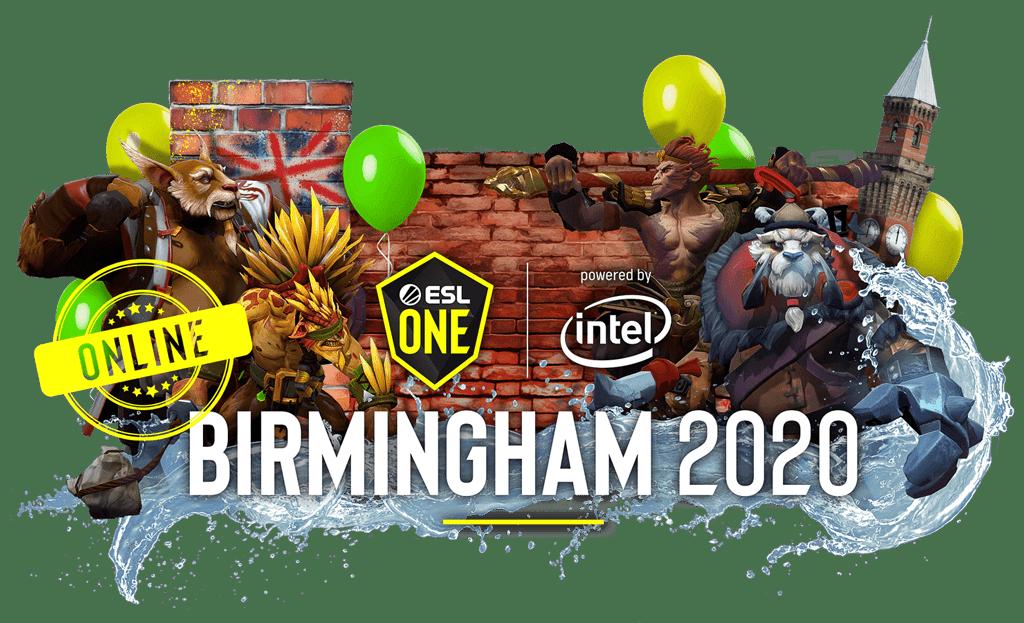 ESL One Birmingham Online 2020 China Dota 2 Tournament
