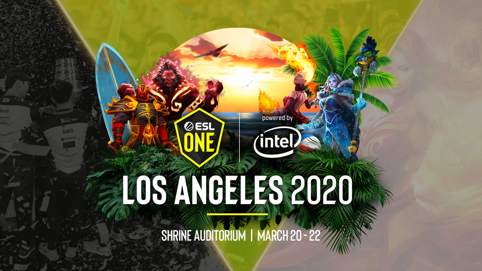 ESL One Los Angeles 2020 (COVID-19 cancelled) Tournament