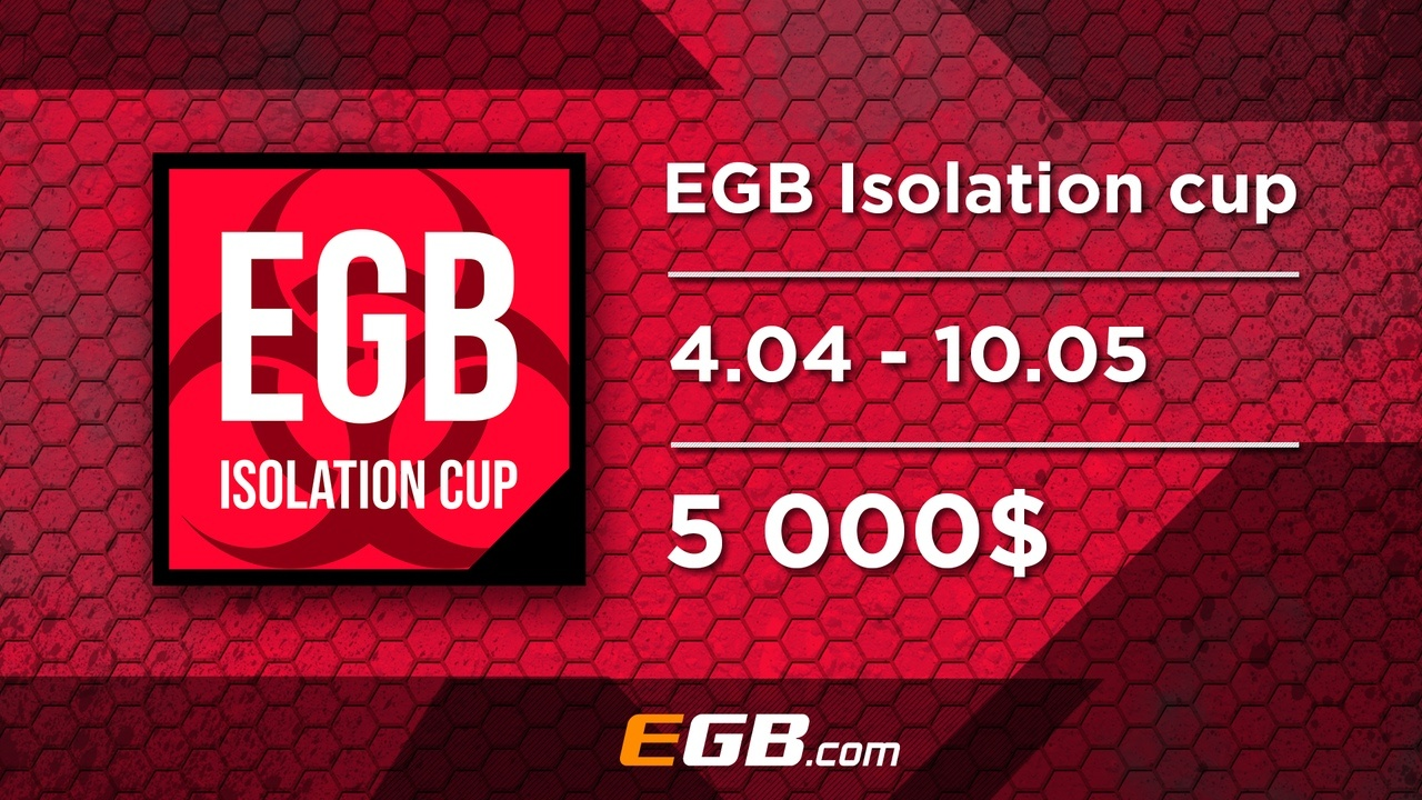 Isolation Cup Spring 2020 Tournament